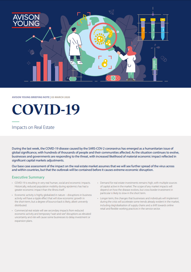 WeirFoulds COVID-19: Commercial Leasing Considerations