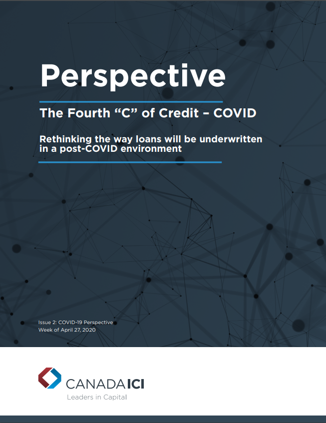 "Perspective: The Fourth ""C"" of Credit- COVID-19"