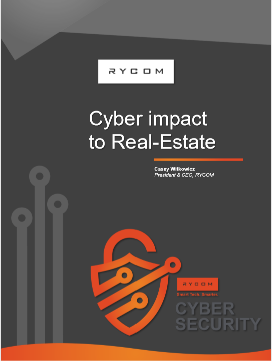 Cyber impact to Real Estate Report by RYCOM